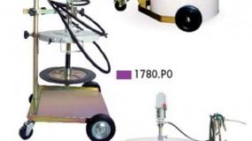 Echipamente pneumatice pentru gresat