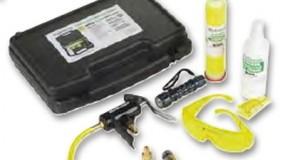Trusa detectie scurgeri freon si materiale pentru intretinerea aparatelor de service aer conditionat auto