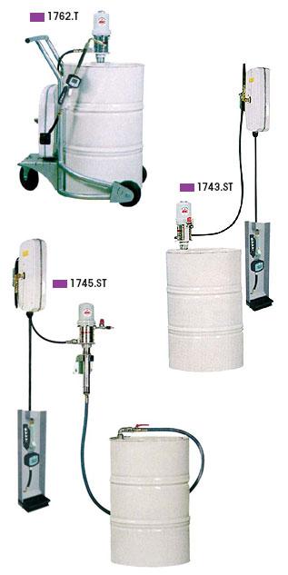 Instalatii pneumatice de umplere cu ulei pentru camioane
