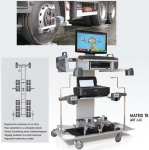Stand geometrie directie MATRIX, pentru camioane
