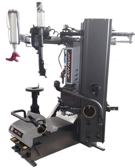 Aparat de dejantat robotizat, de mare capacitate, de la ATH Heinl - Germania