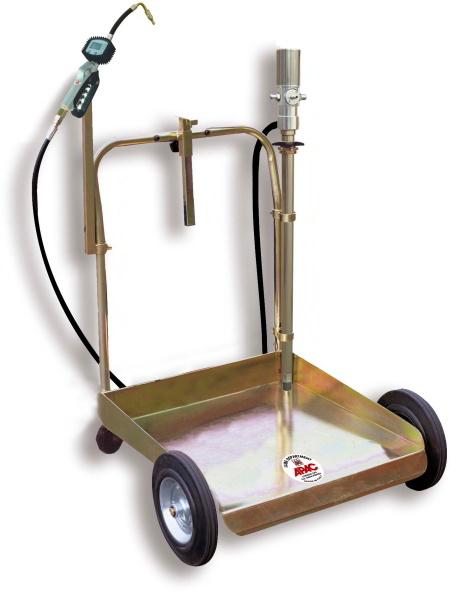Echipament pneumatic mobil pentru transfer ulei