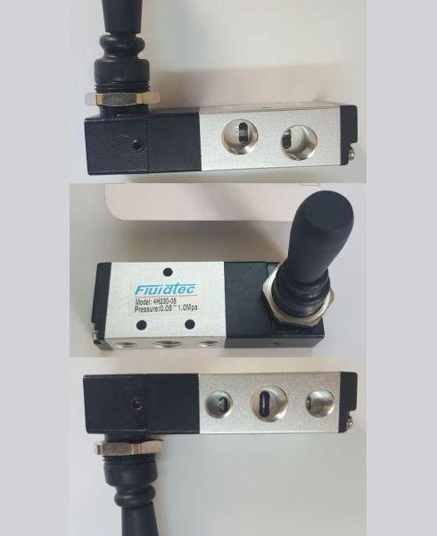 Comanda pneumatic joystick cu 3 pozitii