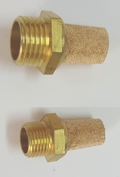 Silentiatoare metalice pentru aer comprimat
