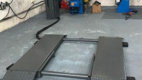 Elevator foarfeca pentru vulcanizare - 3 tone