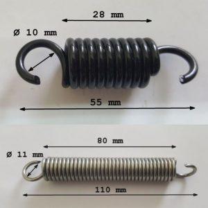 Arcuri spirale pentru pedale