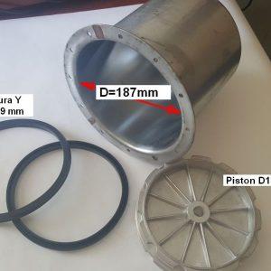 Piese cilindru pneumatic dejantat