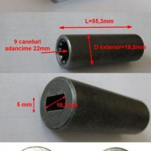 Cuplaj motor pentru pompa hidraulica