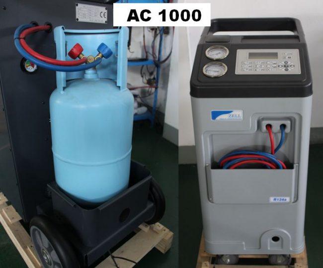 AC 1000 ZELL - aparat service freon auto