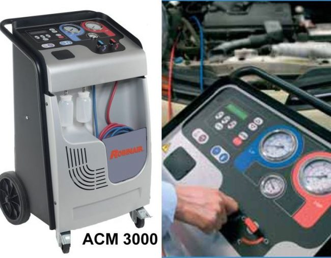 Robinair ACM 3000 - aparat service freon auto
