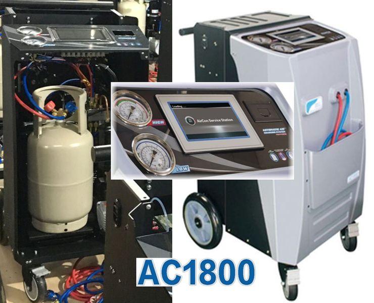 AC 1800 ZELL - aparat automat pentru service freon auto