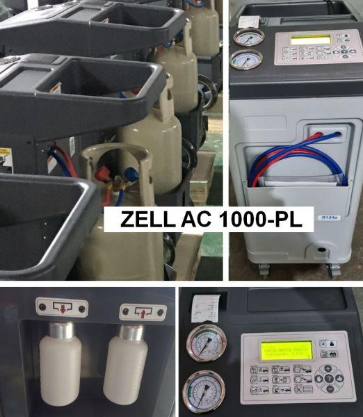 Aparat AC 1000 ZELL pentru service freon auto
