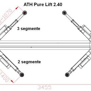 Brate elevator ATH Pure Lift 2.40