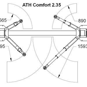 Brate elevator ATH Comfort 2.35