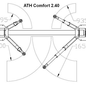 Brate elevator 4 tone ATH Comfort 2.40