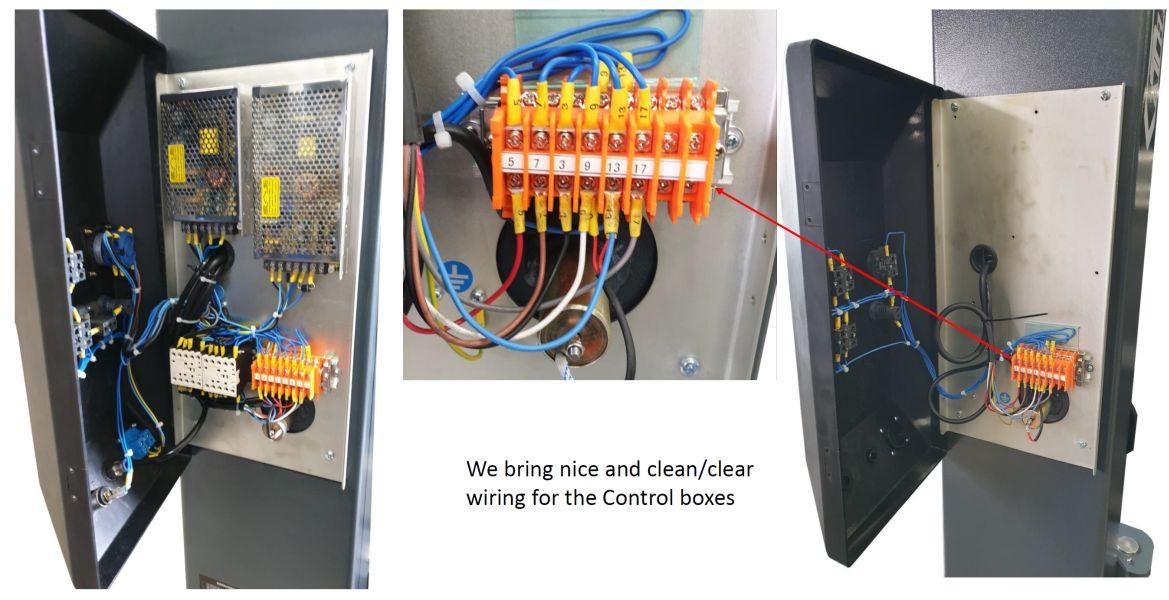 Componente electrice de calitate si bine organizate