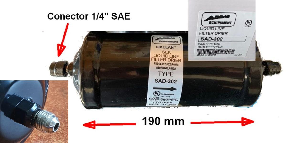 filtru dehidratant SAD-302